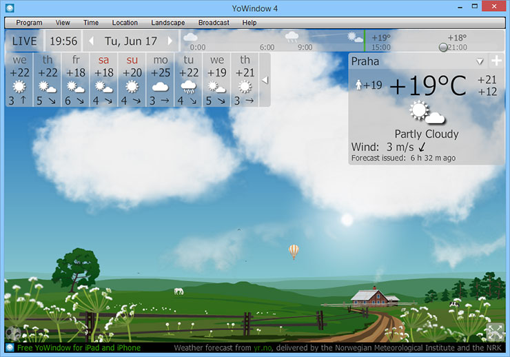 desktop weather